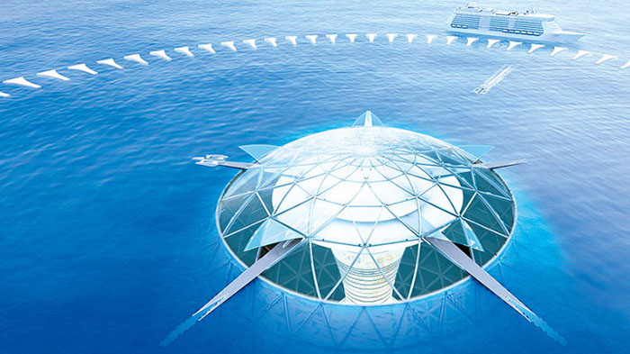 Ocean Spiral is Japan's future underwater city
