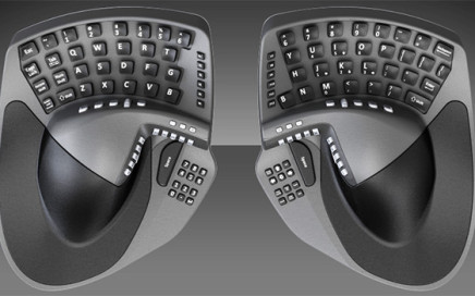 KeyMouse, It's a keyboard and a mouse