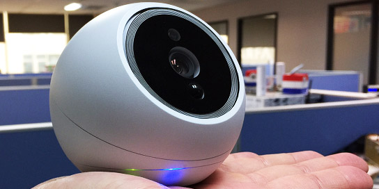 Meet iCamPRO FHD, the best and first home security robot for tracking intruder