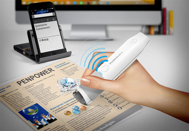 WorldPenScan X is a digital pen for scanning and translating texts