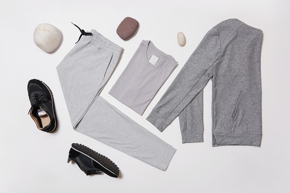 Minimalist sportswear from Outdoor Voices, Men