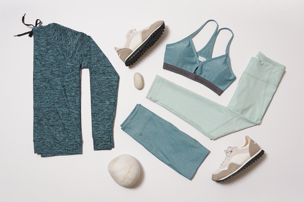 Minimalist sportswear from Outdoor Voices, Women